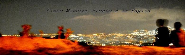 cinco minutos frente a la página