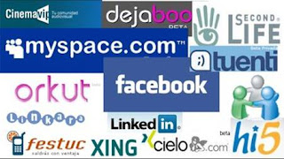 Redes Sociales   Facebook, twitter, hi5, xing