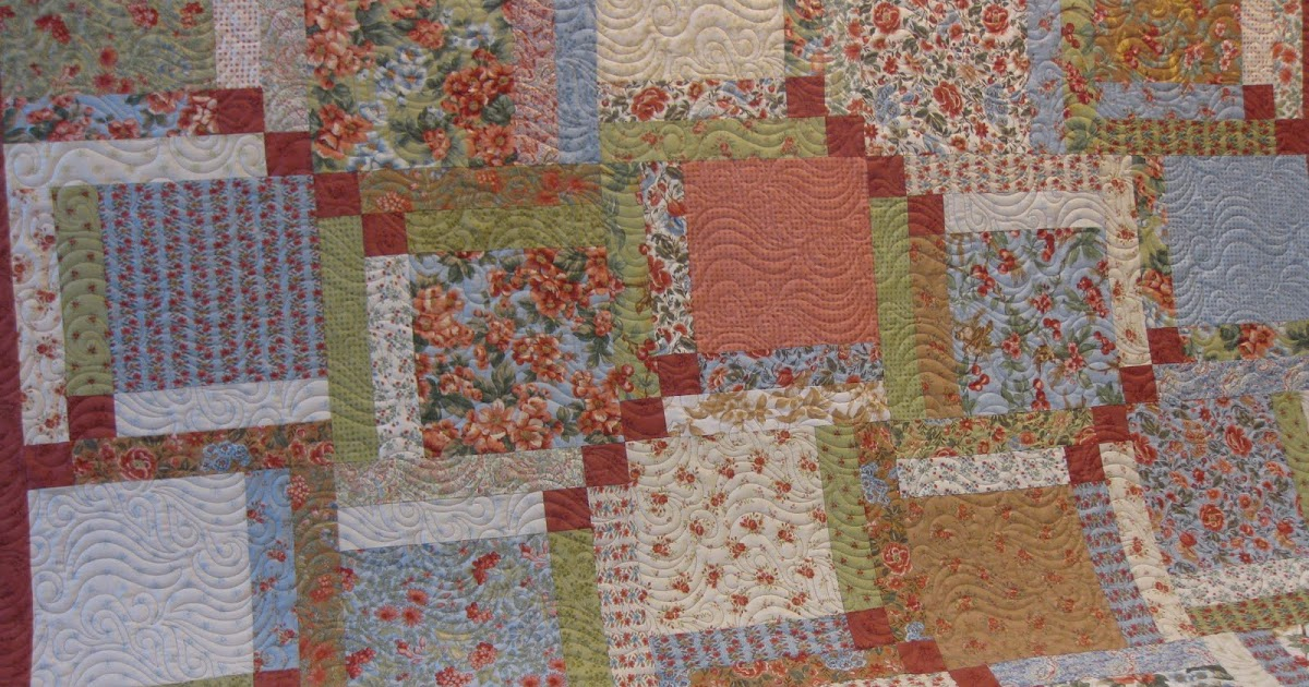 Layer Cake Quilt As You Go : Millie s Quilting: Layer Cake Quilt