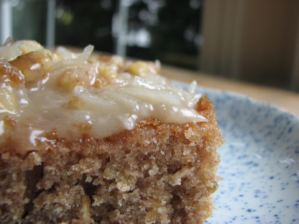 Heidi Bakes Oatmeal Cake
