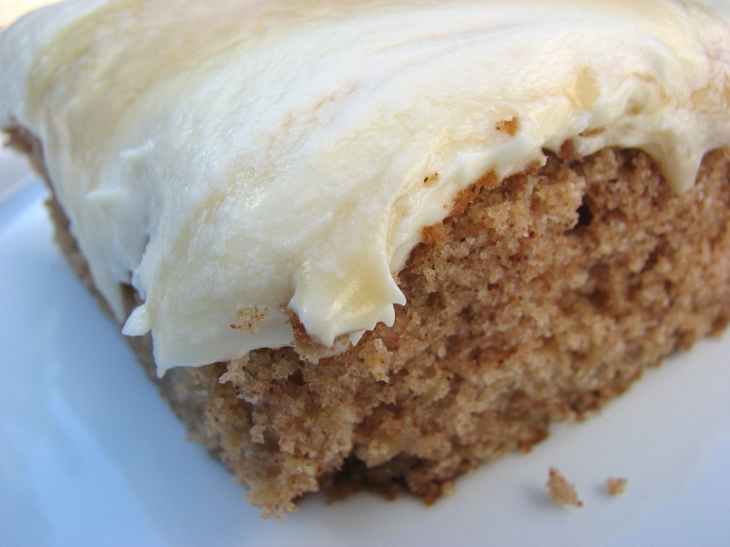 Heidi Bakes: Apple Spice Cake with Dulce De Leche Buttercream