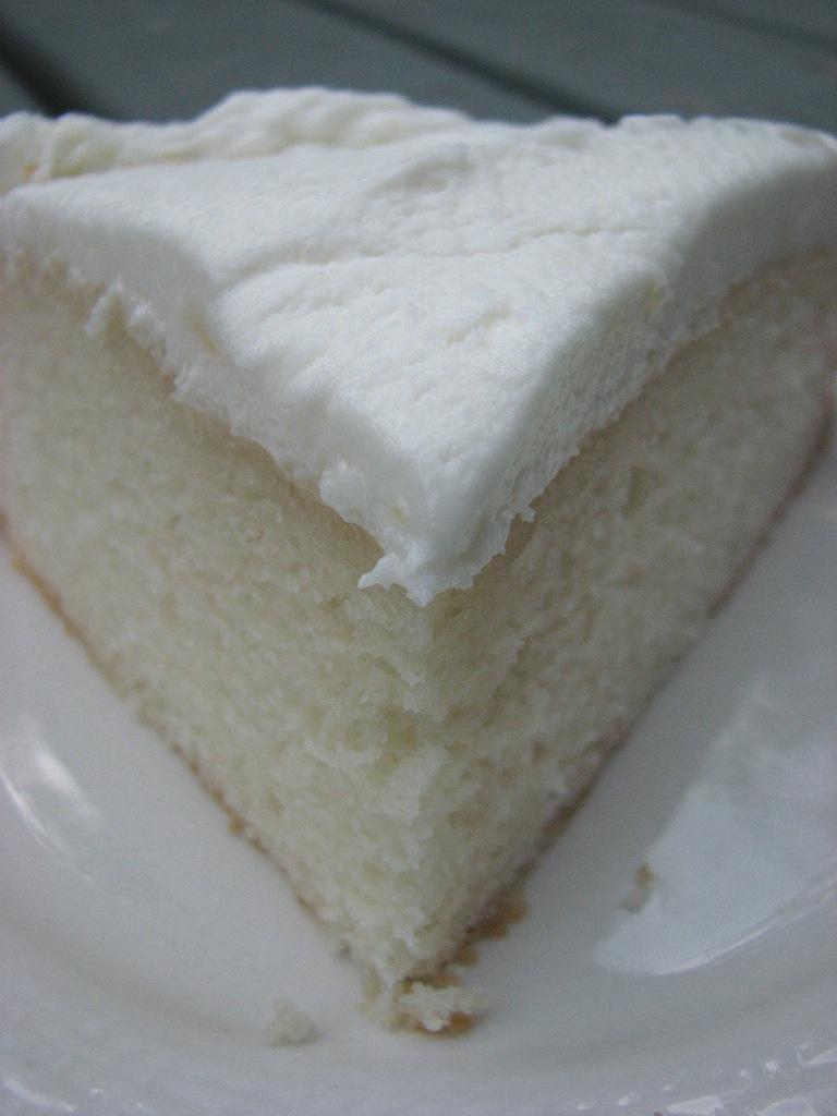 White Cake Mix Sour Cream Almond Extract