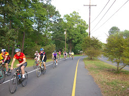 The Bike Source Ride on Pargoud Blvd 4-13-09
