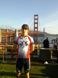 Joey Terracina at Start of Push America