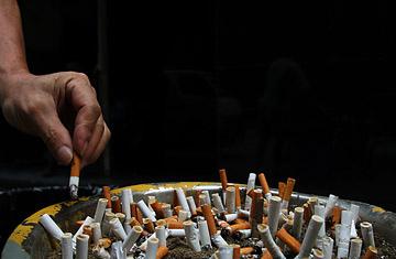 entrada en vigor de la ley antitabaco: