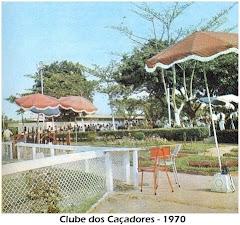 UM RECANTO DO JARDIM DO CLUBE DOS CAÇADORES - 1970.