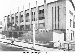 MUSEU DE ANGOLA, RUA DA MUXIMA, LUANDA - ANO 1970.