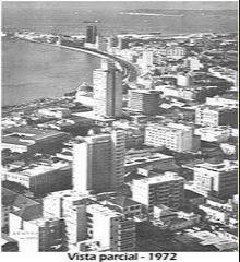 VISTA PARCIAL DE LUANDA - ANO 1972.