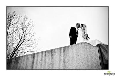 windy wedding photography