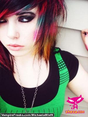 Beauty Emo And Scene Hairstyle