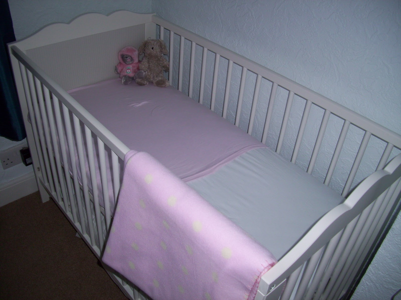 Baby Glitter S Cot Is From Ikea And I Think Was Around The 70 80 Mark Which Really Reasonable When You Look At Mamas Papas Prices