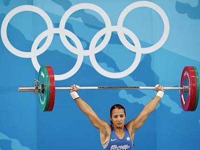 Puerto Rican Olympian Geralee Vega at Beijing 2008