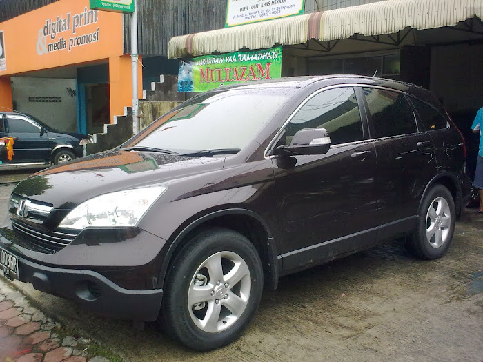 di jual all new CR-V 2007 M/T