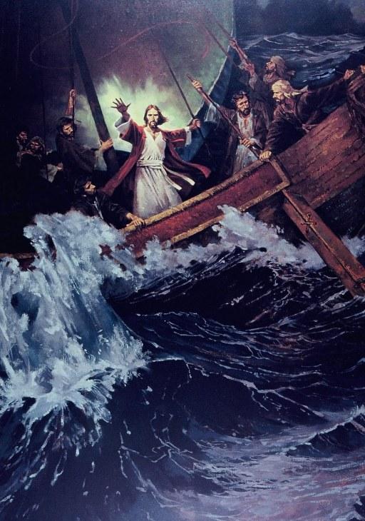 O Senhor tem o seu caminho na tormenta e na tempestade