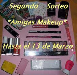 Segundo sorteo *Amigas Makeup*