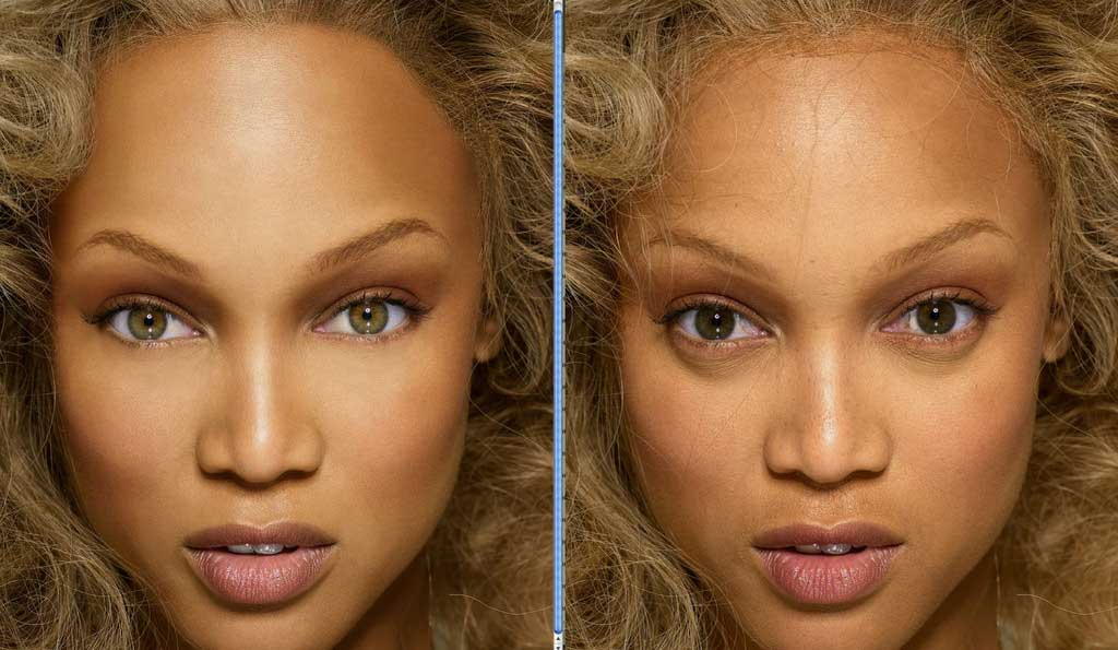Before and After: Airbrushed Celebrity Photos | Style ...