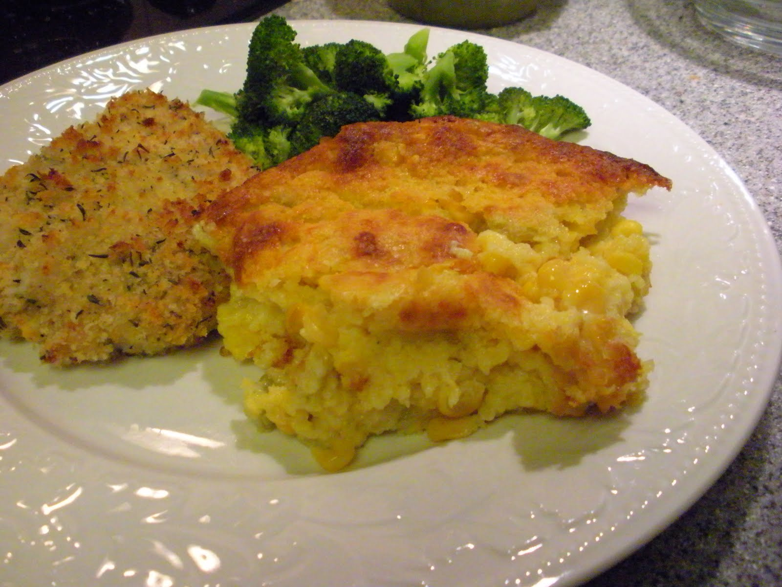 corn pudding 1 egg beaten 1 15 ounce can cream style corn 1 15 ounce ...