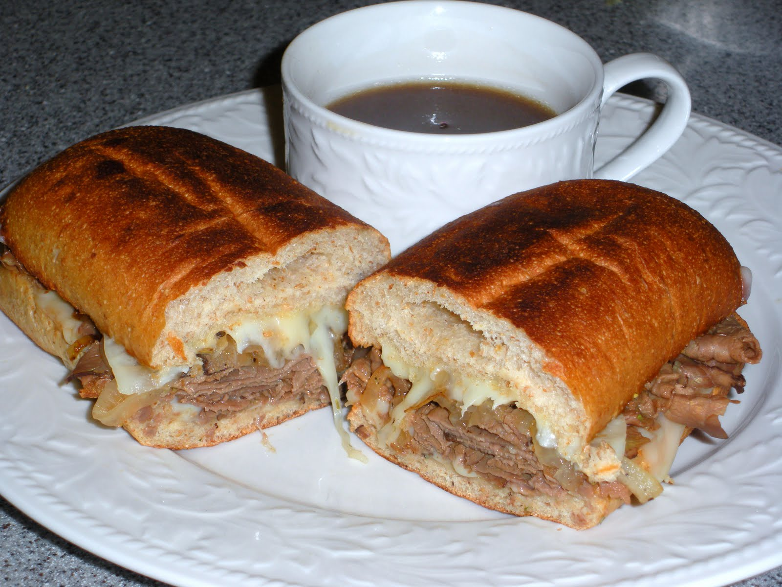 NOT A REAL HOUSEWIFE: French Dip Sandwich