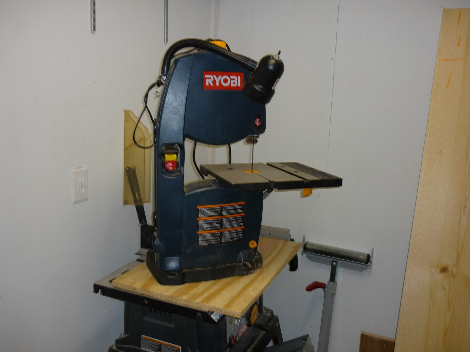 My New Woodturning Shop Band Saw Home