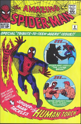 Amazing Spider-Man #8, Living Brain, first appearance and origin