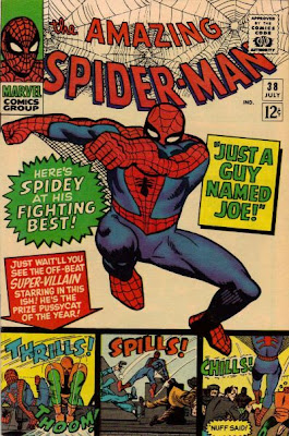 Amazing Spider-Man #38. Just a Guy Named Joe, last ever Steve Ditko Spider-Man story