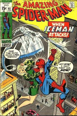 Amazing Spider-Man #92, the Iceman