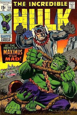 Incredible Hulk #119, Maximus and the evil Inhumans