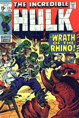 Incredible Hulk #124, the Leader and the Rhino, Bruce Banner marries Betty Ross