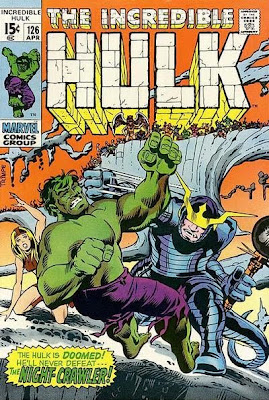 Incredible Hulk #126, the Night-Crawler