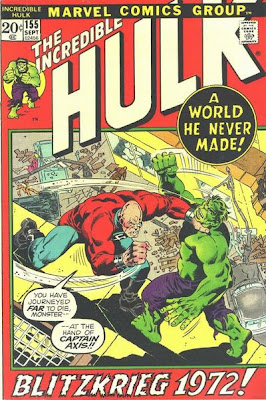 Incredible Hulk #155 Captain Axis and the Shaper of Worlds