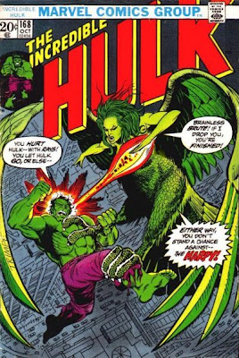 Incredible Hulk #168, the Harpy