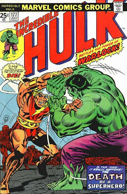 Incredible Hulk #177, Death of Adam Warlock, Man-Beast, Counter Earth, Herb Trimpe