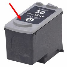 How to refill Canon PG50 black ink cartridge
