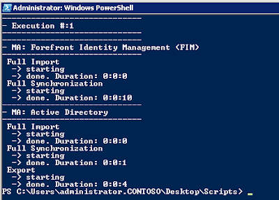 Using powershell to start run profile - fabien duchene