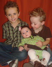 With his Brother & Sister!