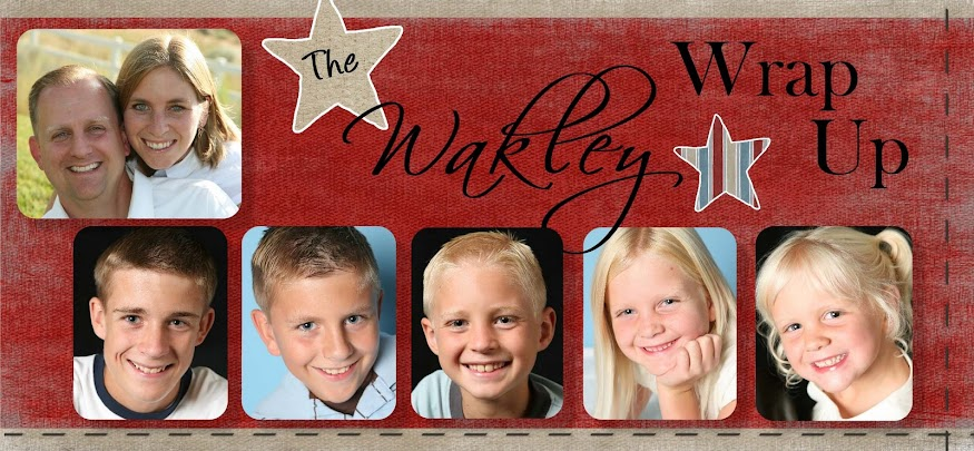 The Wakley Wrap Up