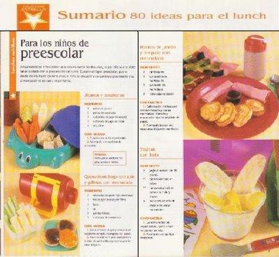 80 ideas para el Lunch. Colección estrella [PDF | Español | 4.71 MB]