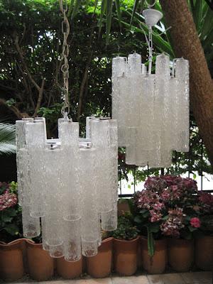 lustre de vidro
