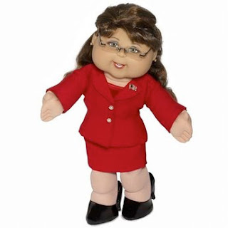 If McCain wins, so to speak, can we make the doll vice-president, because she'd do a better job