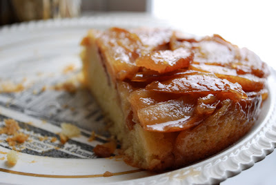 apple pear upside-down cake with vanilla infused butter | brooklyn ...
