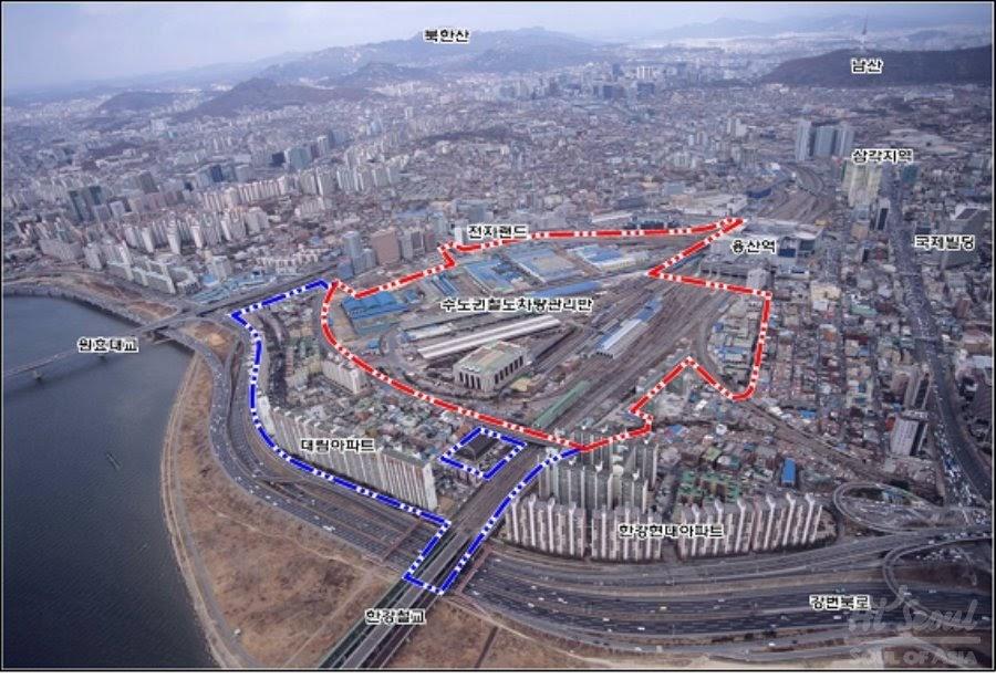 Gusts Of Popular Feeling The Yongsan Dreamhub