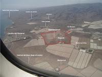 foto aérea terrenos macro-cárcel maspalomas