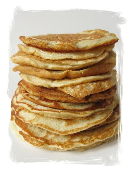 Bretzel & Café Crème: Pancakes au Cottage cheese