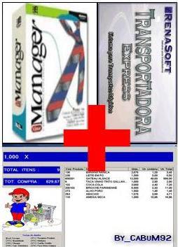Mega Pack para automação comercial, 16 softwares