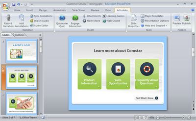 Articulate Presenter Pro 5.05