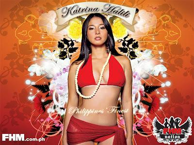 Katrina Halili FHM Sexy Bikini Photo Wallpaper