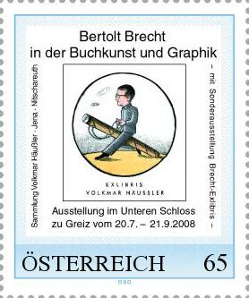 Egbert Herfurth, Bertolt Brecht