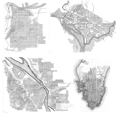 I have been working on the turnofthecentury city maps