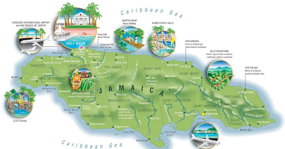 Steccati Maps Your World Flavors of Jamaica