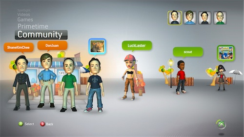 XboxLIVE update: 360 Xbox Dashboard Update 2011 Preview